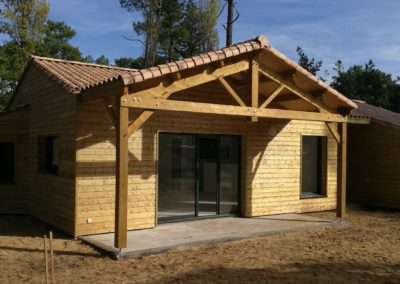 Maison ossature bois - MBA MENUISERIE