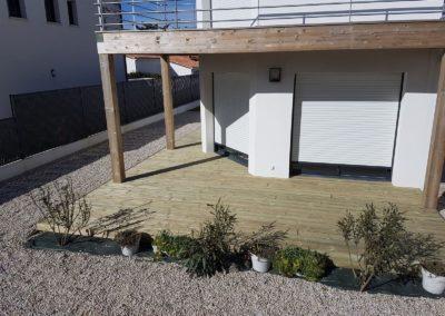 Terrasses en bois maison - MBA MENUISERIE