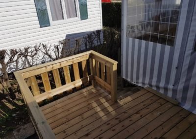 Terrasse en bois pour mobil home 3 - MBA MENUISERIE