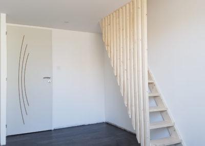 Réalisation escalier en bois - MBA MENUISERIE