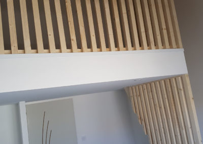 Mezzanine en bois - MBA MENUISERIE