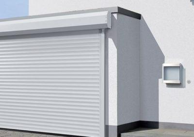 Porte de garage enroulable de chez Tubauto - MBA MENUISERIE