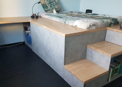 aménagement chambre d'adolescent