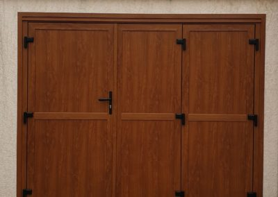 Porte de garage - MBA MENUISERIE