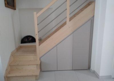 Aménagement sous escalier - MBA MENUISERIE