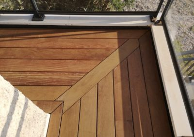Terrasse balcon IPE - MBA MENUISERIE